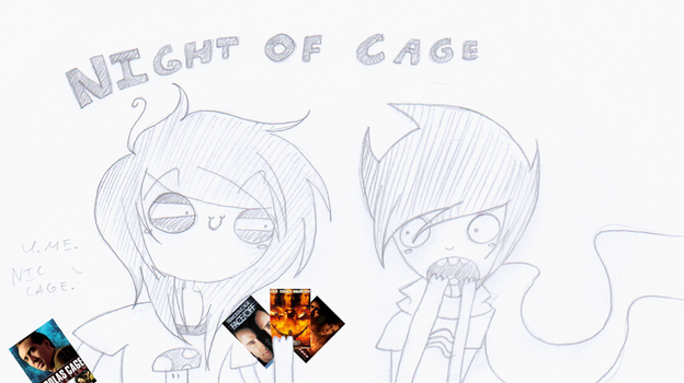 Night of cage by HyperHell164