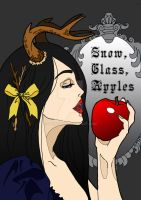 Snow, Glass, Apples A by Bunnyko