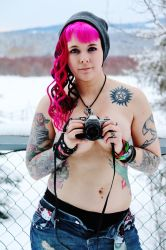 Girl With a Camera Tattoo by WalkingKiddMiles