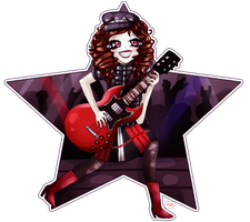 Rock chick by millykins