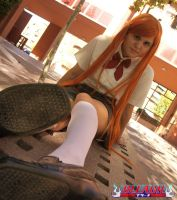 Inoue Orihime - Bleach by amy-611