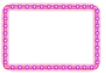 Neon Border PNG by LG-Design
