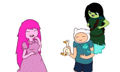 Adventure Time - joke from the vault by nk3-ATR