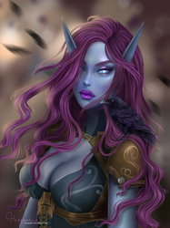 Commission: Synella by Heszperia