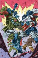 IDW Revolution Cover #1(of 5) by GuidoGuidi