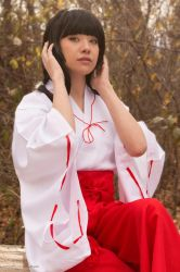 Kikyo the Shrine Maiden by Xxfruit-cakexX