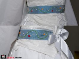 Embroidered belt by MeeYungCreations