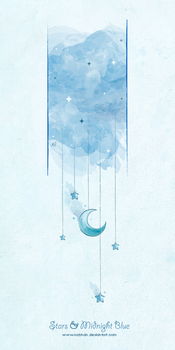 Stars and Midnight Blue by NaBHaN