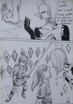 Ghirahim X Link 2 The Fire Sanctuary page 3 by heey1888