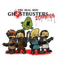 the mini ghostbusters zombies by zfura