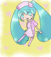 Love-Colored Ward - Miku by mintgold-sky