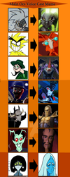 Voice Cast Contest Entry: All Stars Infamy Ocs by Bigjawthereptile