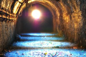 tunnel of light by calorproduction