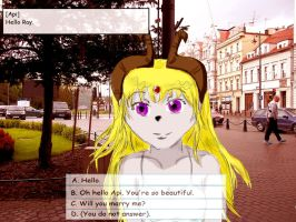 Visual Novel- The princess of darkness by miawell1990