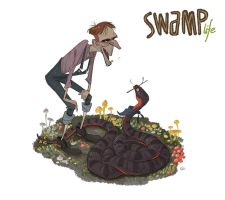 SWAMP life - Uncle Otis by GuillermoRamirez
