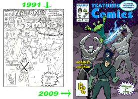 Featured Comics 1 covers by SethWolfshorndl