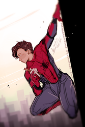 Spiderman Homecoming doodle by ABD-illustrates