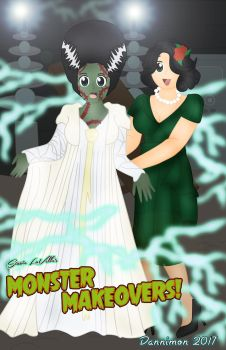 Monster Makeovers October by DannimonDesigns