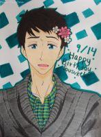 Happy Birthday Sousuke!! by Yami-The-Orca
