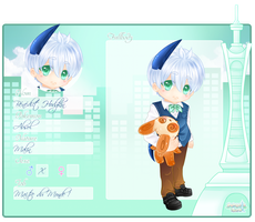 MI - Fiche personnage : Benedict by LovelySucre