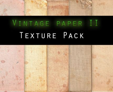Vintage Paper II TEXTURE PACK by Knald