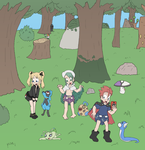 Pokemon Champion Regressions by Lance-the-young