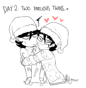 12 Days of Christmas Day 02 by M4DH4ttey266
