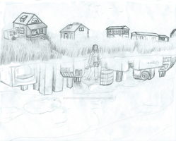 Coast (pencil) by Of-the-Northwind