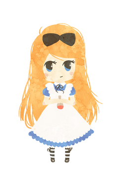 Alice Chibi for KaLa89 by SimplySilent