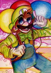 Luigi's Balloon World by mariogamesandenemies