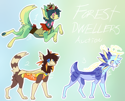 Forest Dwellers AUCTION CLOSED by LucidNaturae
