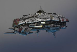 Assault Frigate by entroz