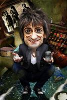 Ronnie Wood Rolling Stones by bouboudesign