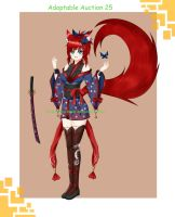 Adoptable Auction 25 Kitsune (Closed) by chechoski