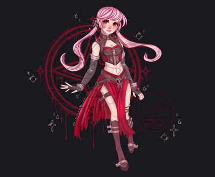 Necromancer Adopt Auction (Closed) #18 by Dreaming-Witch