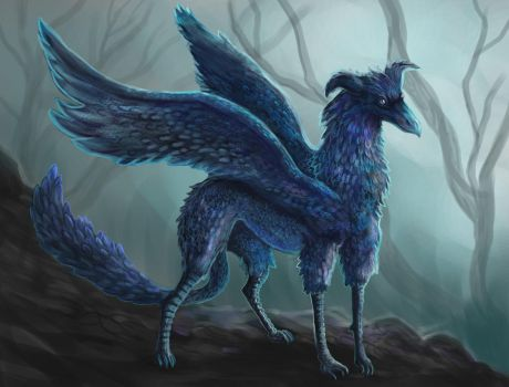 Canis Corvus by Cinder-Cat