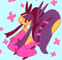 mega mawile by Andcetera