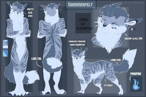 Shimmer reference sheet 2016 by BreezyBunny