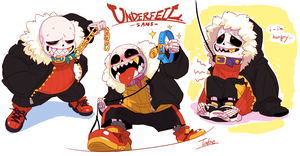 UNDERFELL sans by tabe103