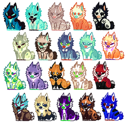 +ADOPT!+ DOGGOS! (4/20 OPEN!) by IMonsterDrool