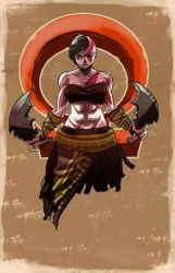 Kratos Goddess of War by coolmonkeyd