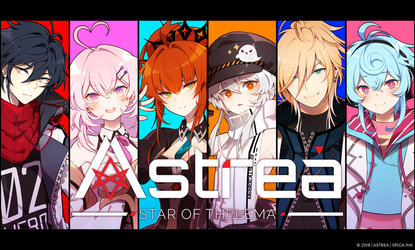 Astrea: Main Cast by hen-tie
