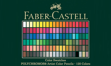 Faber-Castell Polychromos Color Swatches by LeoElessar