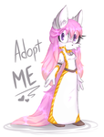 [Auction Adopt CLOSED] Pink-haired Fox by KetLike