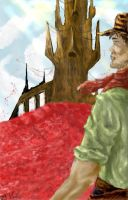 Roland and the Dark Tower by Midori-ossan