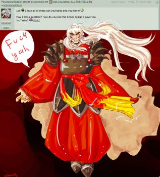 Ask Inuyasha: Armor by unknownpicture