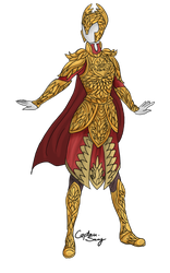 Golden Wing Armor Adoptable SOLD by Captain-Savvy