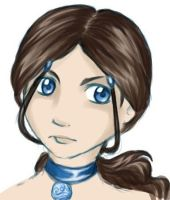 Katara - Ninja Hairdo by KarniMolly