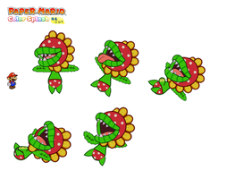 Petey Piranha (unused Paper Mario version) 2 by DerekminyA