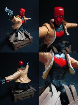 Red Hood Mini-Bust painted by chiseltown